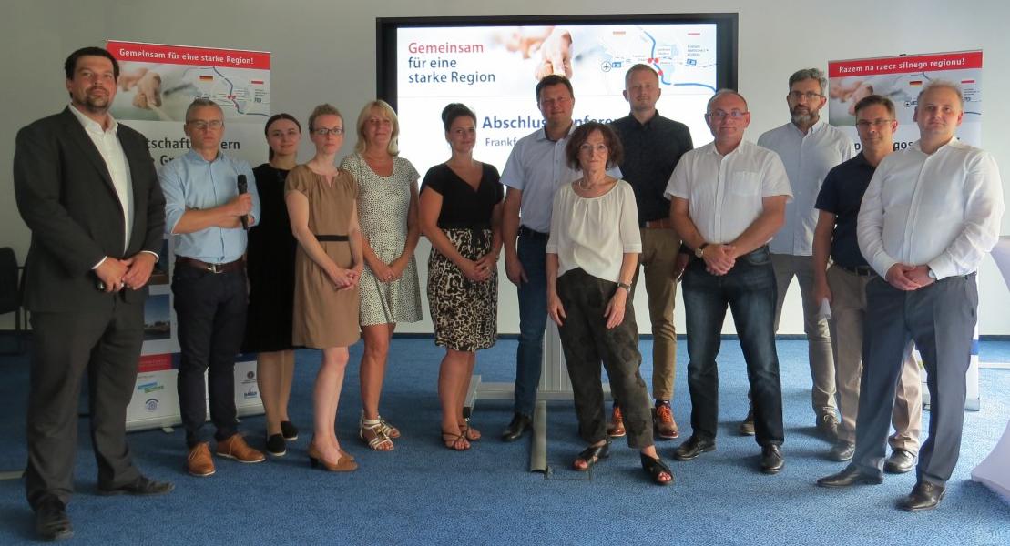 Teilnehmer der 10. Arbeitskreis-Sitzung in Frankfurt (Oder)
